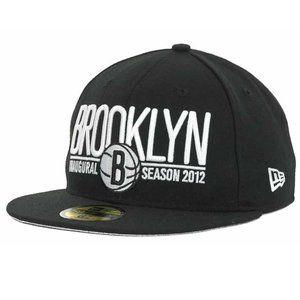 New Era Brooklyn Nets Inaugural Fitted Hat 7 3/4